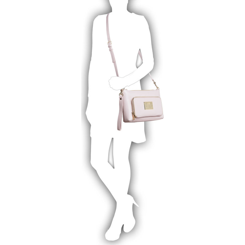Messenger bag/Clutch Love Moschino powder pink