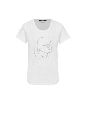 Karl Lagerfeld T-shirt Ikonik Karl Lightning Bolt