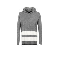 Wool Blend Hoodie Sweater Tommy Hilfiger gray