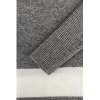 Wool Blend Hoodie Sweater Tommy Hilfiger gray