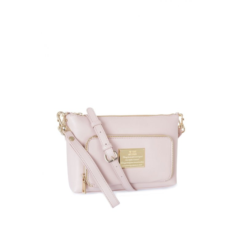Messenger bag/Clutch Love Moschino powoler pink