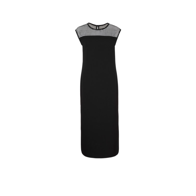 MESH dress Karl Lagerfeld black
