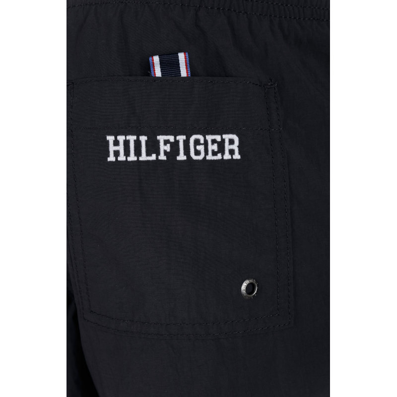 SZORTY KĄPIELOWE Logo Tommy Hilfiger czarny
