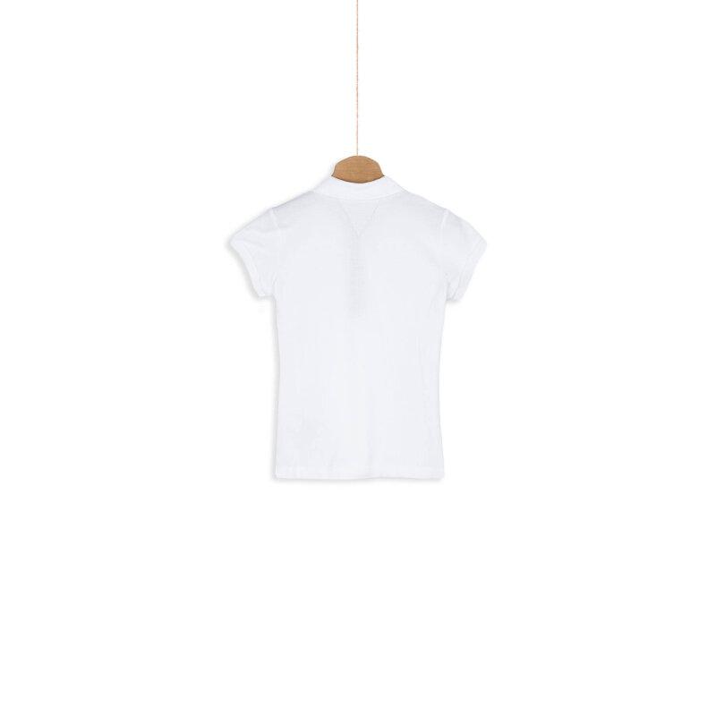 Polo Tommy Hilfiger biały