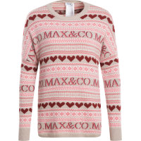 Sweter Dolce z dodatkiem wełny MAX&Co. piaskowy