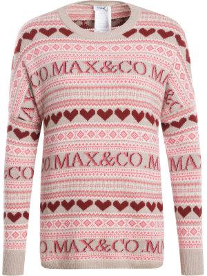 MAX&Co. Sweter Dolce z dodatkiem wełny