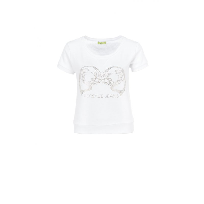 Bluza Versace Jeans biały