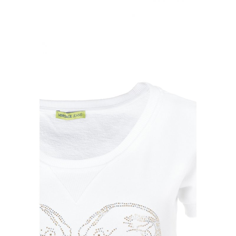 Sweatshirt Versace Jeans white