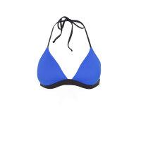 Góra od bikini Polo Ralph Lauren niebieski