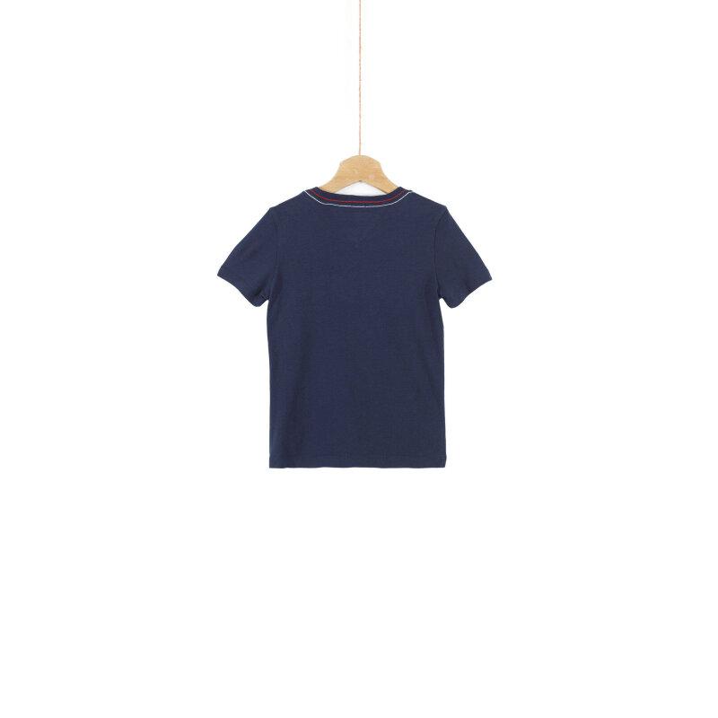 T-shirt Mahalo Tommy Hilfiger granatowy