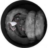 Earmuffs with headphones UGG ash gray