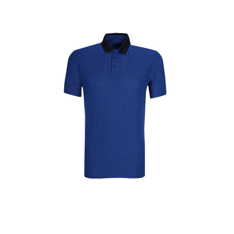Polo Z Zegna niebieski