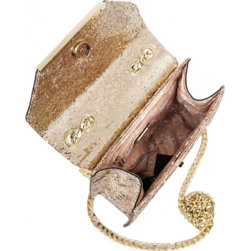 Messenger bag Guess gold