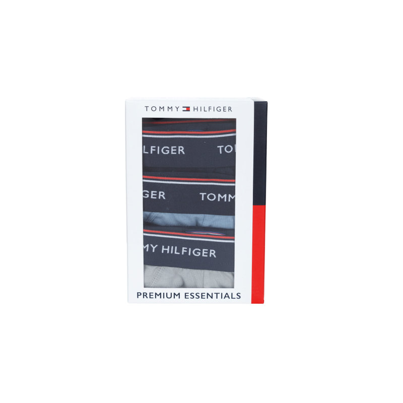 Slipy Premium Essentials 3-pack Tommy Hilfiger granatowy
