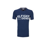 T-shirtTHDM Basic Hilfiger Denim granatowy