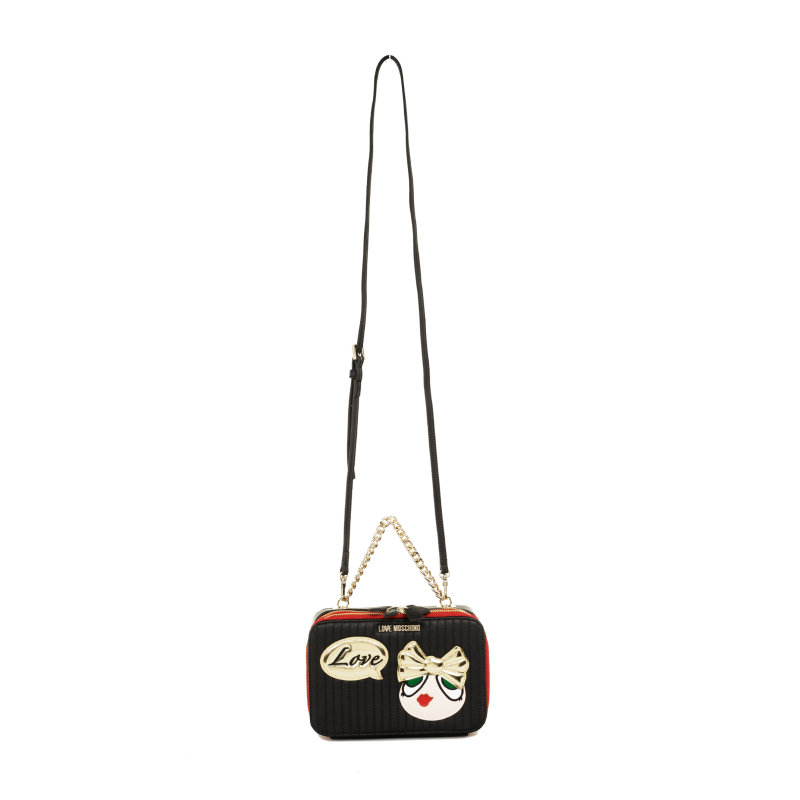 Messenger bag Love Moschino black
