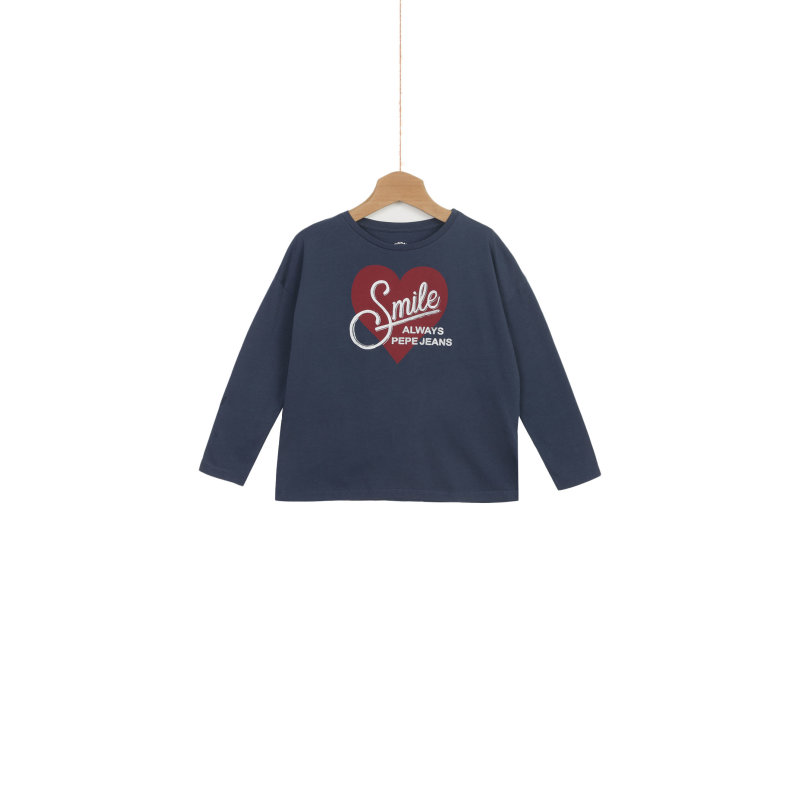 Claudia longsleeve Pepe Jeans London navy blue