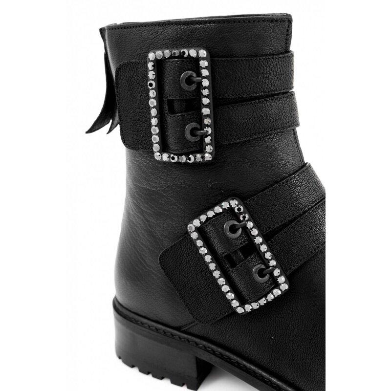 Jittery Boots Stuart Weitzman black