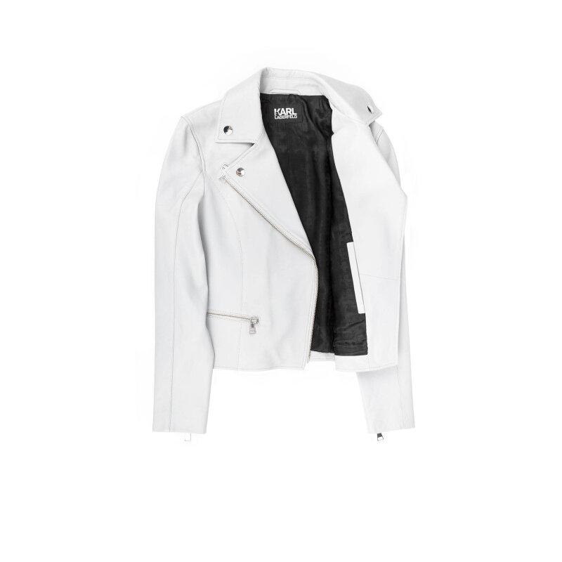 KURTKA ODINA Karl Lagerfeld popielaty