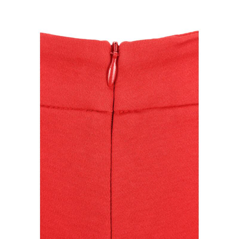 Spódnica Love Moschino czerwony