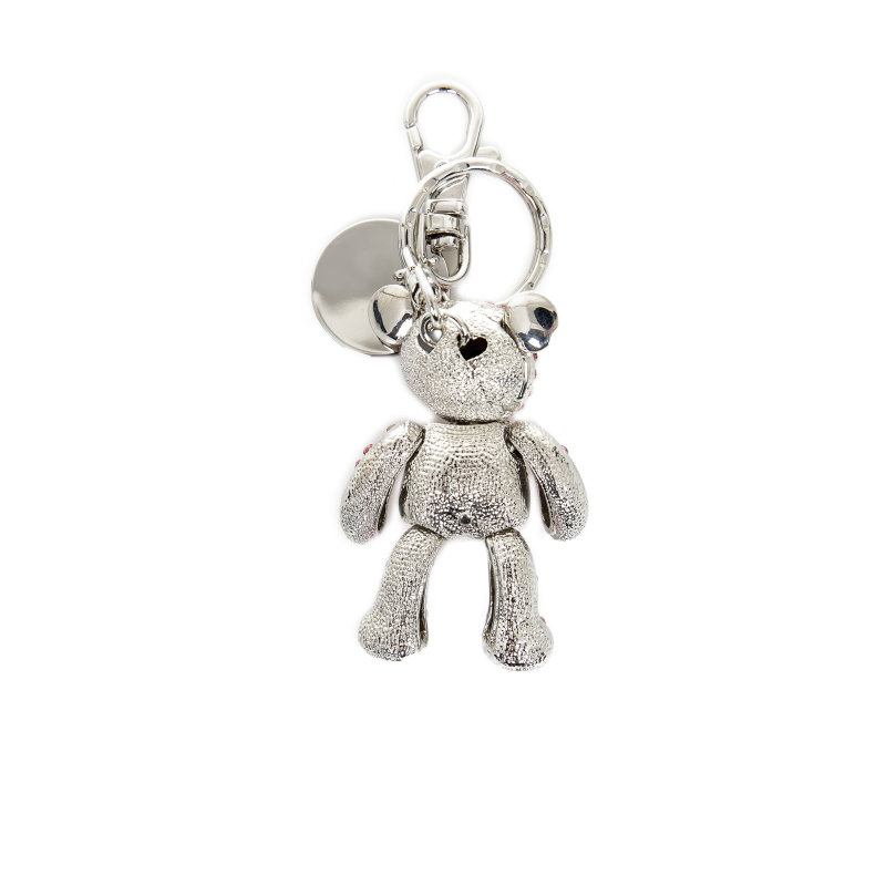 Keyring Love Moschino silver