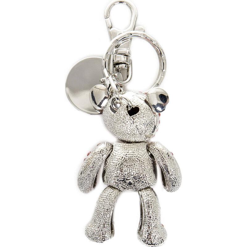 Keyring Love Moschino silver