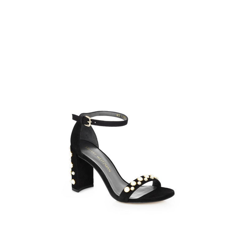 Morepearls Sandals Stuart Weitzman black