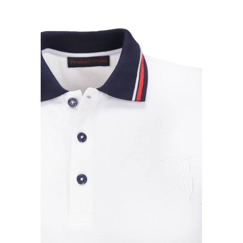 Polo Trussardi Jeans white