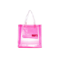 Beach bag Guess pink