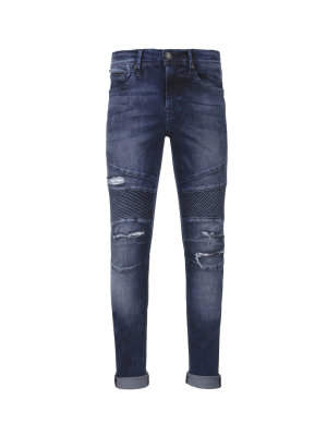 Pepe Jeans London Finsbury Moto Jeans