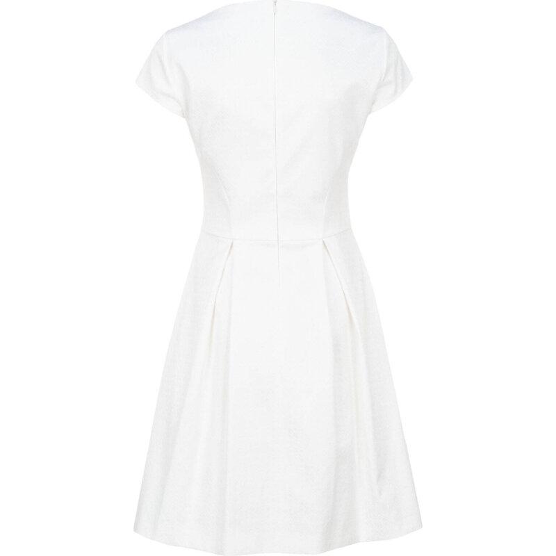 Sukienka Kiriko Hugo kremowy