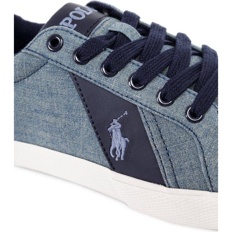 Tenisówki Hugh-Ne Polo Ralph Lauren niebieski
