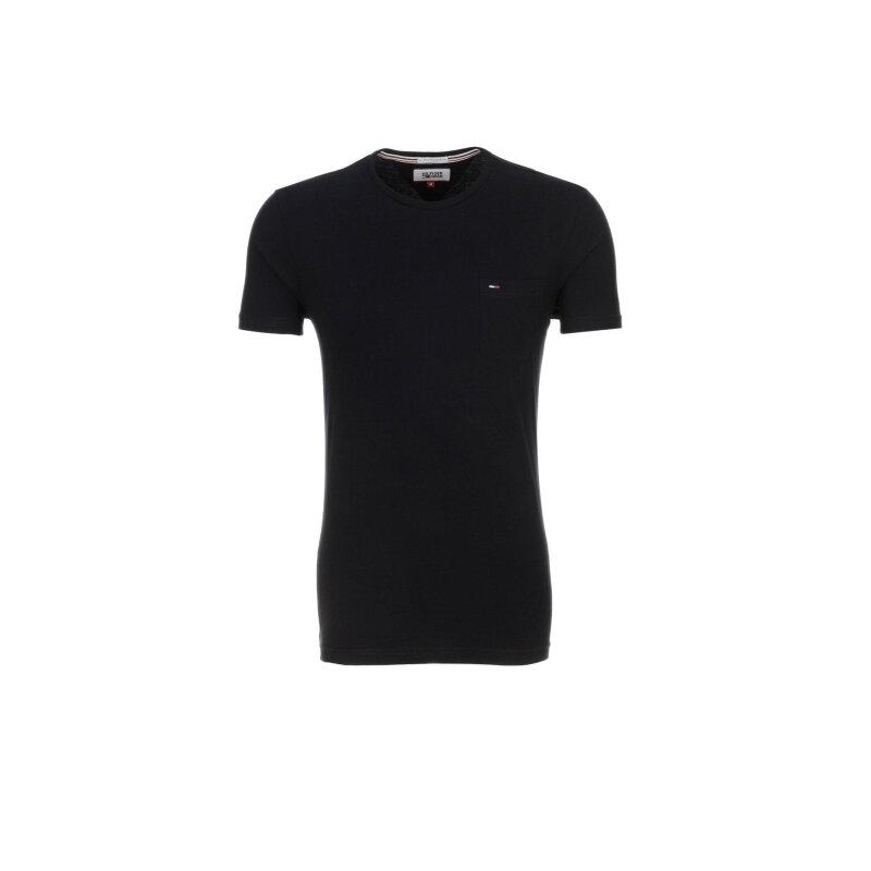 T-shirt THDM Basic Hilfiger Denim czarny
