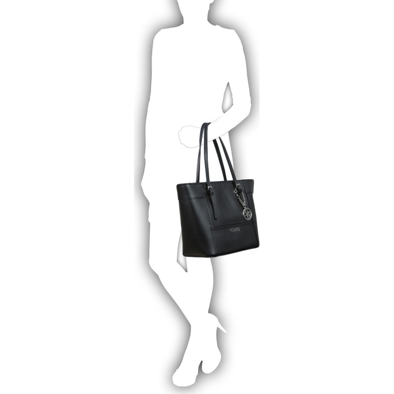 Delaney Shopper bag Guess black