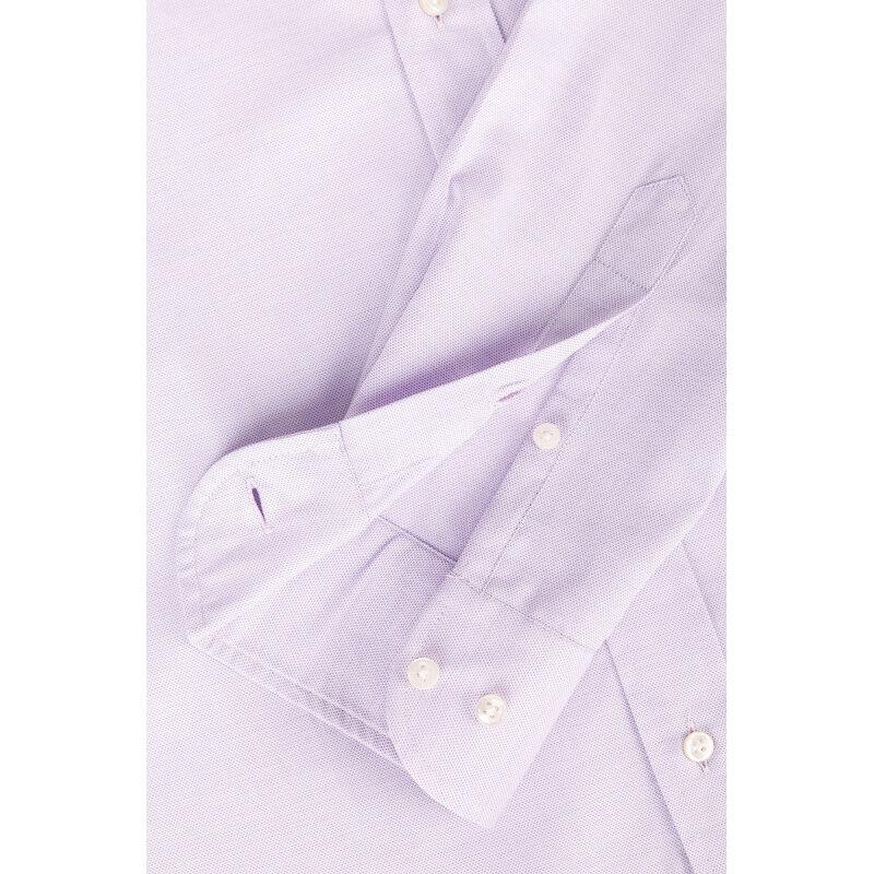Koszula Armani Collezioni fioletowy