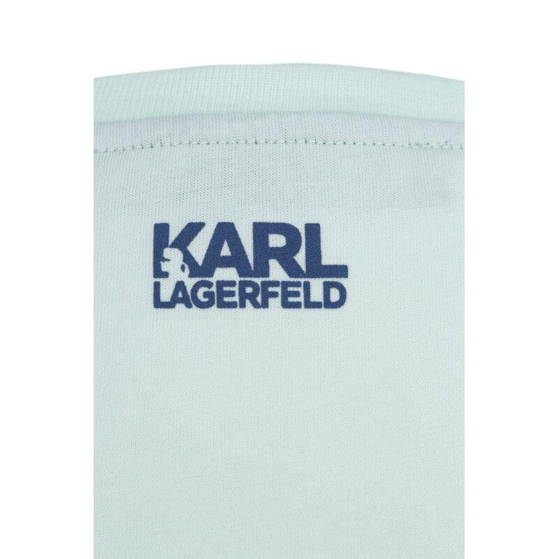 Top Karl Lagerfeld miętowy