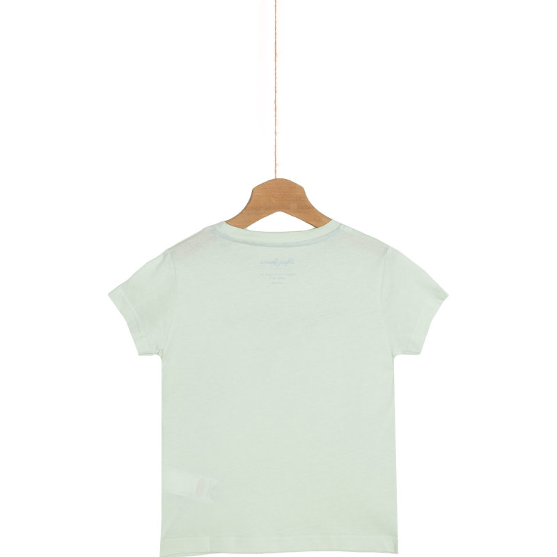 Art T-shirt Pepe Jeans London green