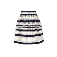 Skirt Elisabetta Franchi navy blue