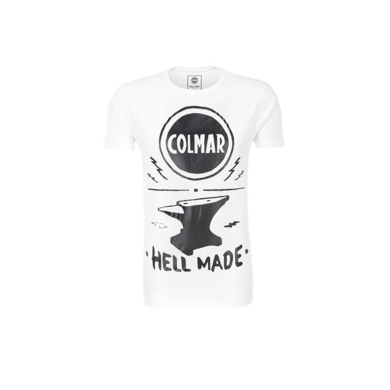 Motorcycle T-shirt Colmar white