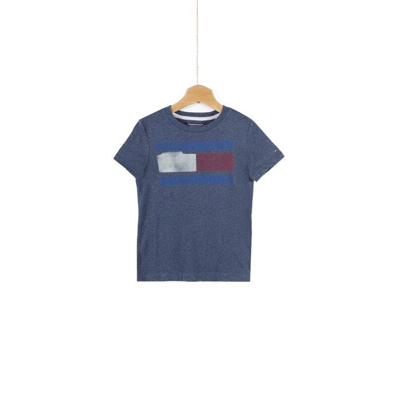 T-shirt Icon Tommy Hilfiger granatowy