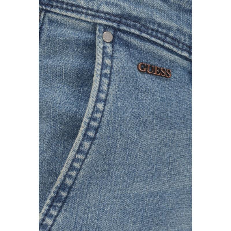 Jeansy Super-Slim Guess Jeans niebieski