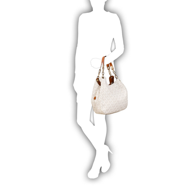 Fulton Hobo bag Michael Kors white