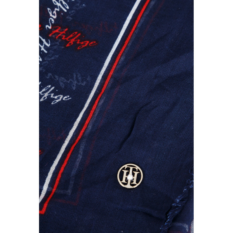 Check Scarf  Tommy Hilfiger navy blue