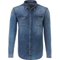 Classic shirt Calvin Klein Jeans navy blue