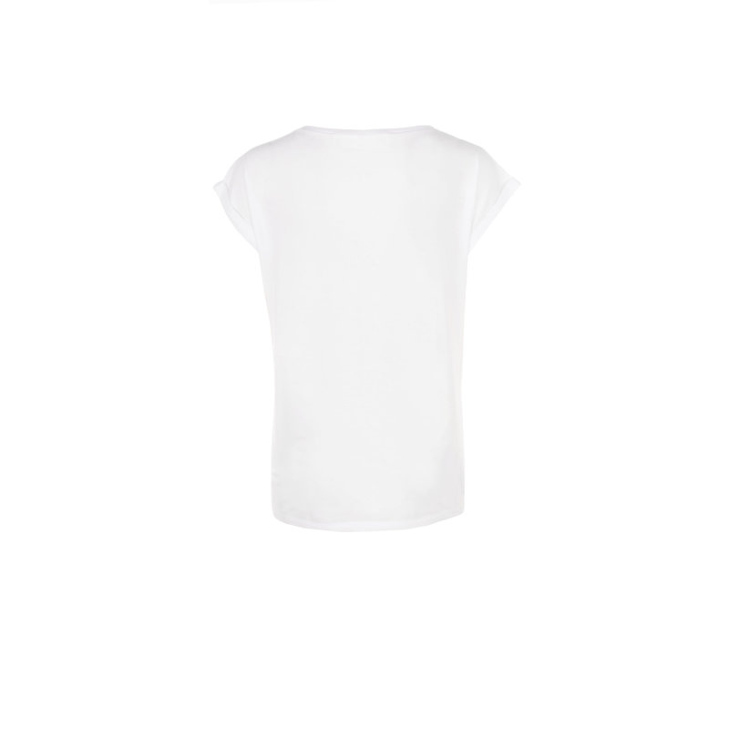 T-shirt Elisabetta Franchi biały