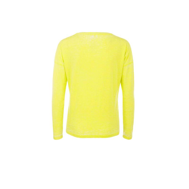 Bluzka + opaska Guess Jeans żółty