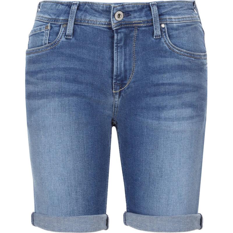 Shorts Poppy blue denim Pepe Jeans London OojEn79u