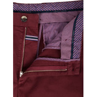 Spodnie Chino WLM-W PNTSLD Tommy Hilfiger Tailored bordowy