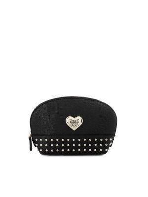 Love Moschino Hart&Studs cosmetic bag