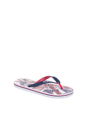 Pepe Jeans London Hawi Union Jack Flip-flops